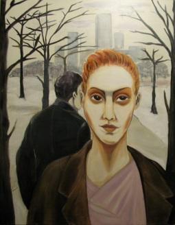 Herwig Maria Stark, silent mood, 114 x 146 cm, Acryl on Belgian canvas, 2008