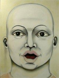 Herwig Maria Stark, Omega-Alpha no 5, mixed media (charcoal, ink, acrylic, oil) on canvas, 2009