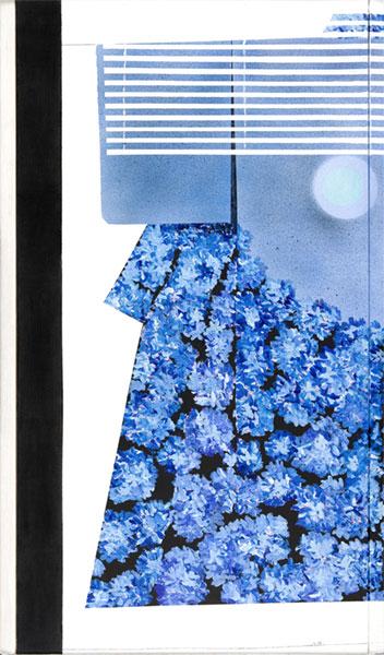 Mary Brilli, I colori della moda, 78 x 146 cm, mixed media