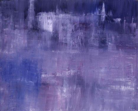 Gerlinde Kosina, Venedig, 80 x 100 cm , Öl auf Leinwand, 2011