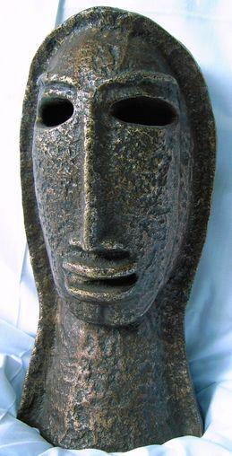 Hannes Neuhold, Königin, Höhe 34 cm, Bronze