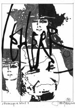 Herbert Bauer, MAITRE LEHERB no 4, Graphitstift auf Papier, 29 x 21 cm