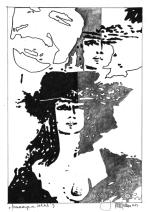 Herbert Bauer, MAITRE LEHERB no 3, Graphitstift auf Papier, 29 x 21 cm