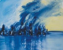 Gerlinde Kosina, NINE/ELEVEN, Glicee print, 61,8 x 49,5 cm, handsigniert, EA