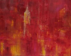 GERLINDE KOSINA, REMEMBER, Öl auf Leinwand, 80 x 100 cm, 2007