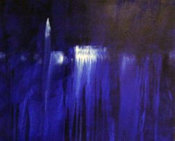 GERLINDE KOSINA, VENEDIG NO. 3, Öl auf Leinwand, 80 x 90 cm