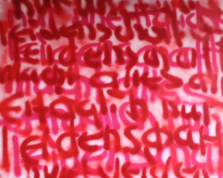GERLINDE KOSINA, LEIDENSCHAFT, Öl auf Leinwand, 80 x 100 cm, 2011