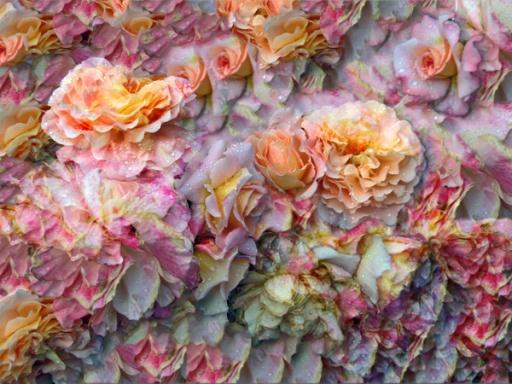 Elisabeth Rass, DES MEERES UND DER LIEBE WELLEN, Series WALTZ OF ROSES, digital photography