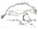 Herbert Bauer - Grimming Zwerg, Graphit auf Papier, 42 x 29 cm, 2012