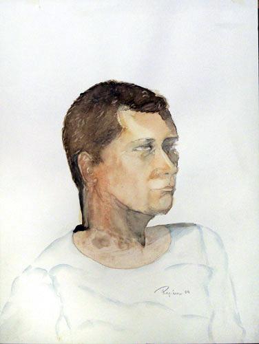 Regina Merta, EUROPA, Aquarell auf Papier, 50 x 40 cm, 2005