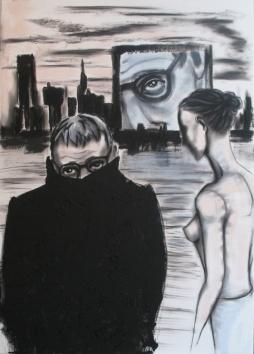 Herwig Maria Stark, ALIEN(ATED)GENDER, 70 x 100 x 4 cm