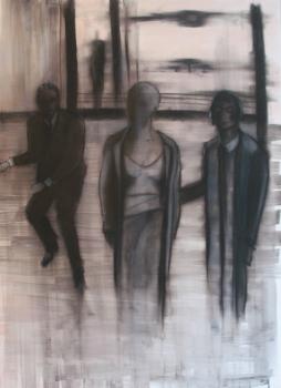 Herwig Maria Stark, MODERN CRUISADERS, 70 x 100 x 4 cm, pigment print, mixed media, 2012_07