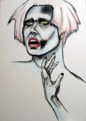 Herwig Maria Stark, TO BE OR NOT TO BE, 70 x 100 x 4 cm, pigment print, mixed media, 2012_0(