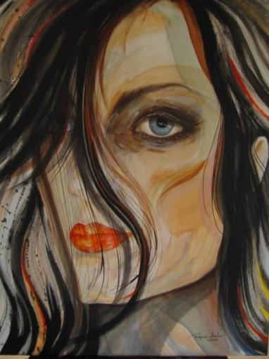Regina Merta, VERSCHMELZUNG III 100 x 80 cm Acrylics on canvas, 2013