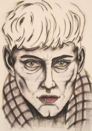 HERWIG MARIA STARK, I I WANT IT ALL, 150 x 105 cm, mixed media on canvas, 2014