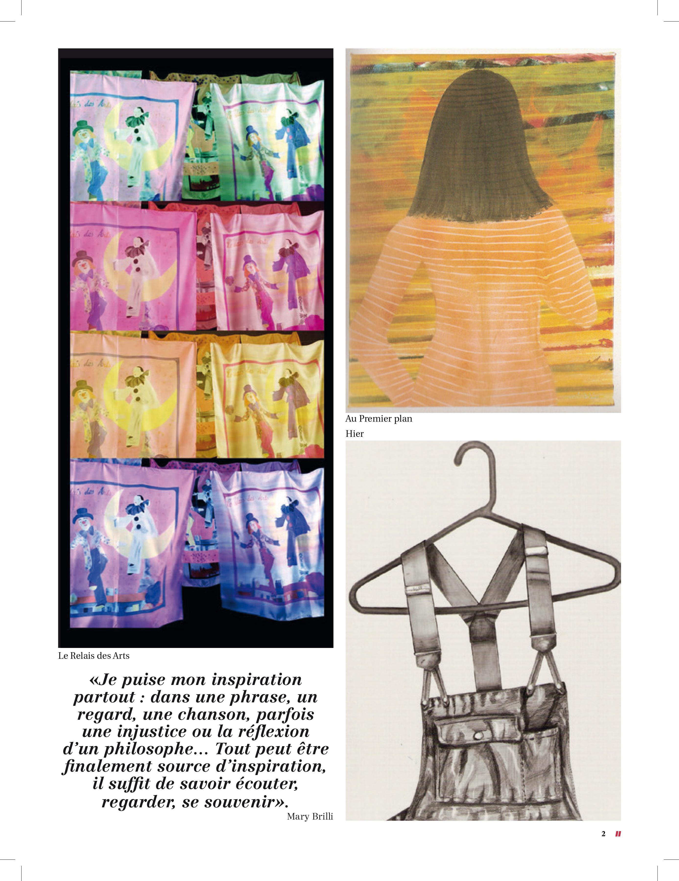 MARY BRILLI im Magazin C\' MAISON & JARDIN | BIENNALE AUSTRIA