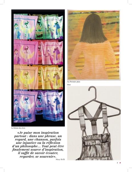 2_Artikel über Mary Brilli im Magazin C' MAISON & JARDIN