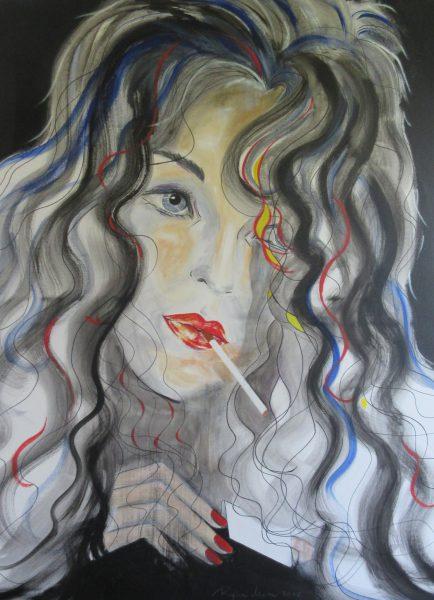 Regina Merta, derniere cigarette, 2016