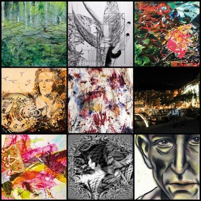 BILDAUSWAHL - Denn die Kunst ist eine Tochter der Freiheit - BA Ausstellung in der Galerija AB, Maglaj, B&H