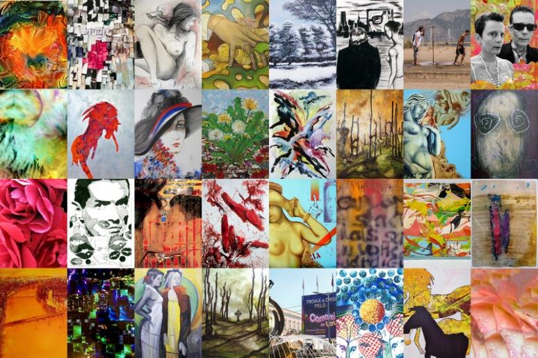 Eine kleine Auswahl aus dem Angebot des Sales Point der Biennale Austria