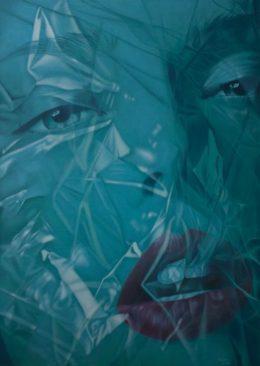 Daisy Gold, CELO, Öl auf Leinwand, 140 x 100 cm, 2012