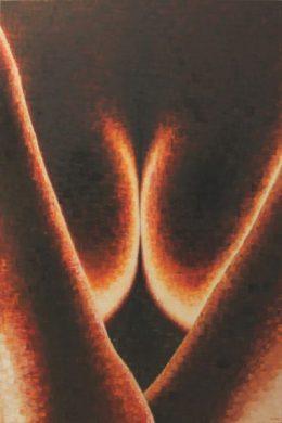Daisy Gold, NEGATIV, Öl auf Leinwand, 120 x 80 cm, 2013