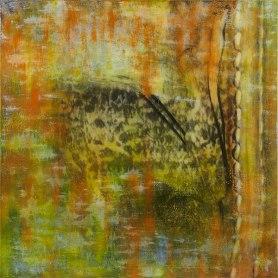 Atelier Coolpool (Daisy+Manfredo) – REISENDE, 95 x 95 cm, Photography exposure, oil on canvas, 2014