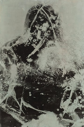 Atelier Coolpool (Daisy+Manfredo) – SCHATTENFÄNGER, 120 x 80 cm, Photography exposure, oil on canvas, 2015