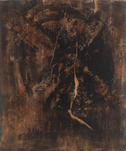 Manfredo Weihs, ATLANTIS, 100 x 120 cm, photography exposure, acrylic on canvas, 2014