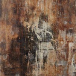 Manfredo Weihs, SPIEGELUNG, 100 x 130 cm, photography exposure, acrylic on canvas, 2013