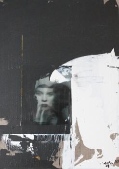 "Momo Höflinger, No 08, ""Übermalungsserie"""