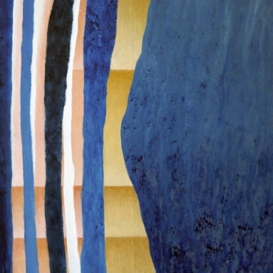 Darius Foroutan, PARIS, Öl und Acryl auf Leinwand, 70 x 90 cm, 2017