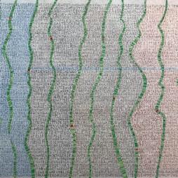 Werner Otto Egelhofer, [0071] Genesis, 2017, Darstellung: B 397 x H 268 mm auf ARCHES Aquarellpapier grain satiné 300g, B 510 x H 360 mm, Pointillismus mit Tusche und Farbstift